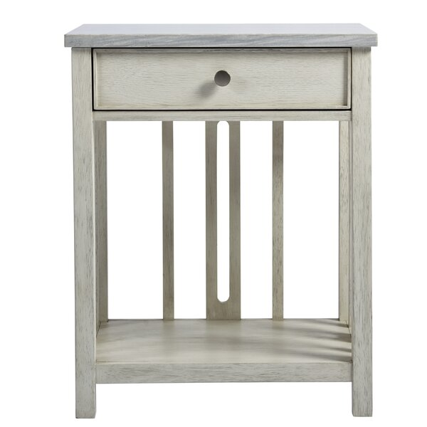 Maliah Bedside 1 Drawer Nightstand by Gracie Oaks