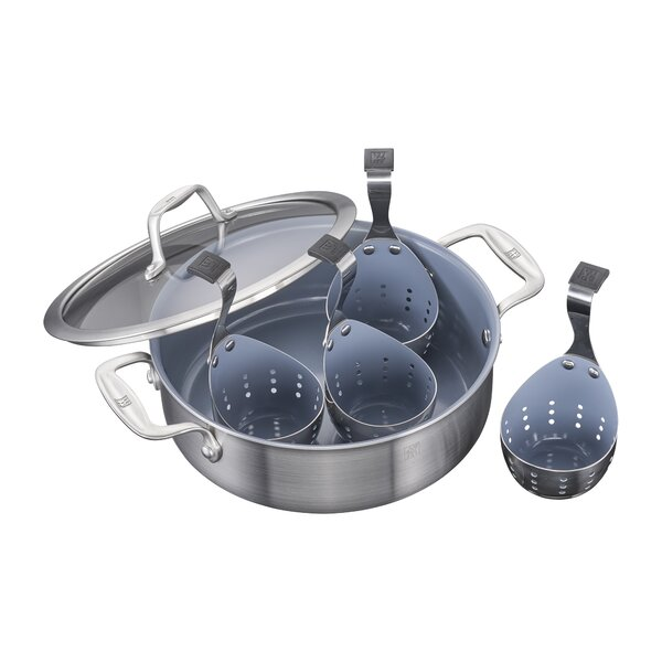 Spirit 4 Cup Non-Stick Egg Poacher by Zwilling JA Henckels