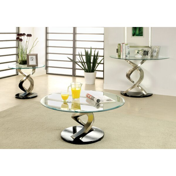 Farren 3 Piece Coffee Table Set by Orren Ellis Orren Ellis