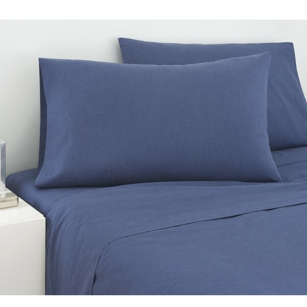225 Thread Count Cross Dyed Sheet Set by IZOD