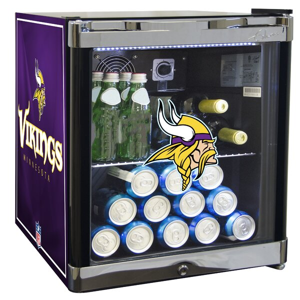 NFL 1.8 cu. ft. Beverage Center by Glaros