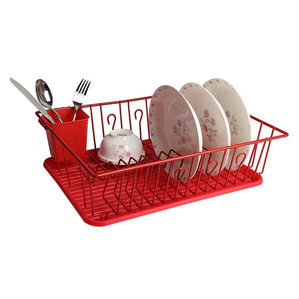 Single Level Dish Rack by Mega Chef
