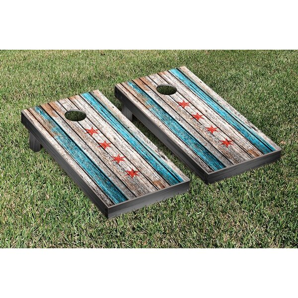 NCAA C Flag Weathered Cornhole Game Set by Victory Tailgate