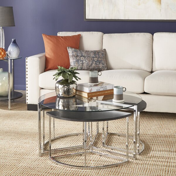 Helgeson 2 Piece Coffee Table Set by Ivy Bronx Ivy Bronx