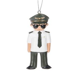 Pilot Hanging Figurine