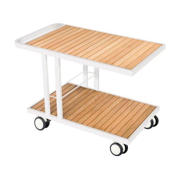 Grace Teak Bar Serving Cart By OASIQ by OASIQ Best Choices