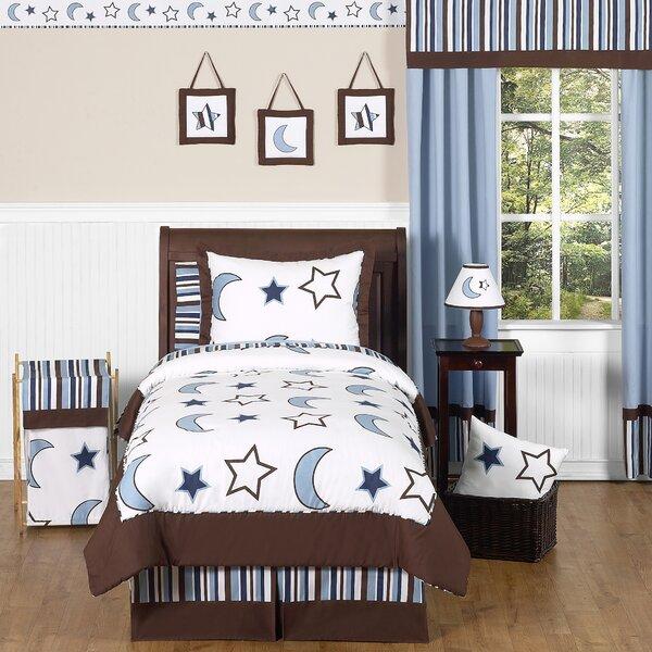 Starry Night 4 Piece Twin Comforter Set by Sweet Jojo Designs
