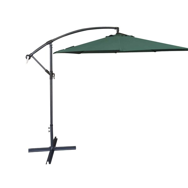 Basey 10' Cantilever Umbrella By Canora Grey by Canora Grey 2020 Coupon
