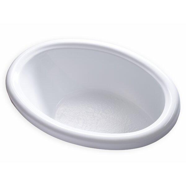 Hygienic 58 x 39 Soaking Bathtub by Carver Tubs