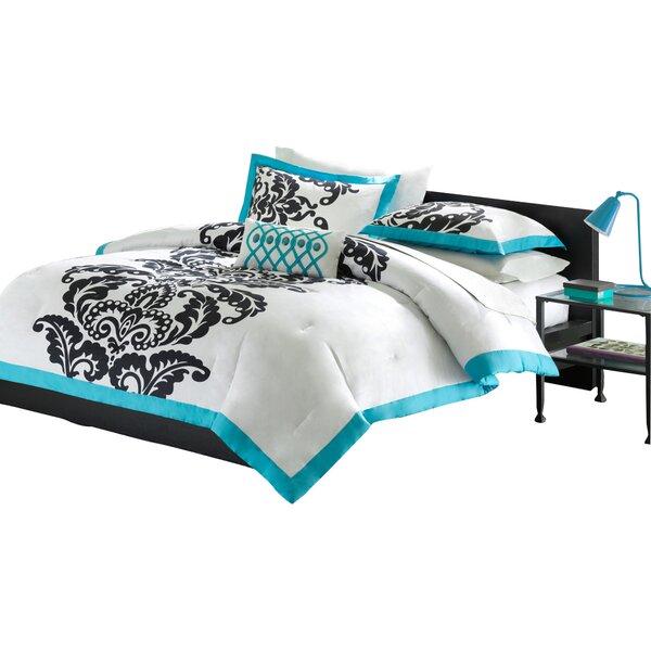 Ashbrook 4 Piece Comforter Set by Andover Mills