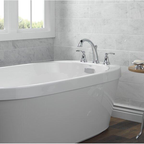Double Handle Deck Mounted Roman Tub Faucet Trim By Delta