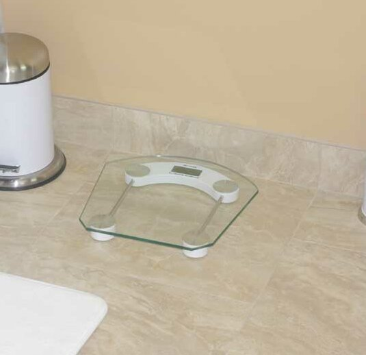 Digital Bathroom Scale by Home Basics