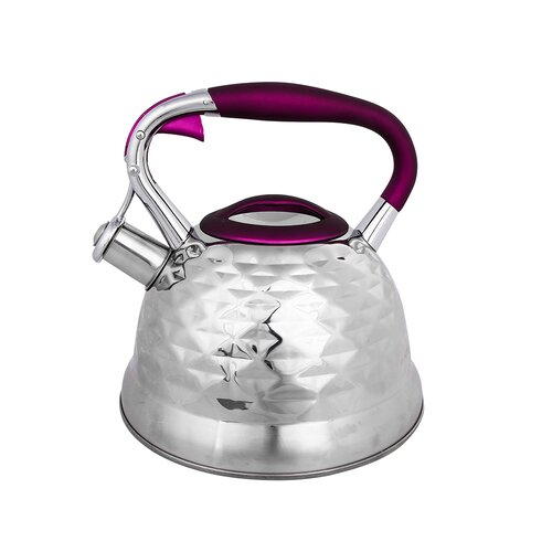 Mccraney 3L Stainless Steel Whistling Stovetop Kettle Symple