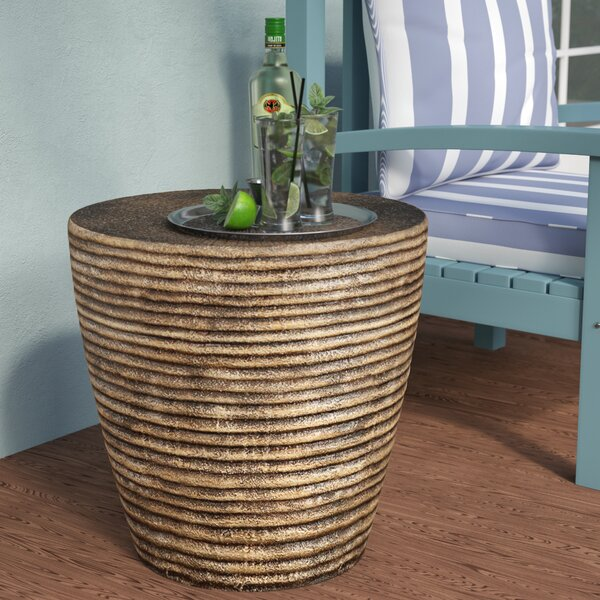 Birrell Side Table by World Menagerie