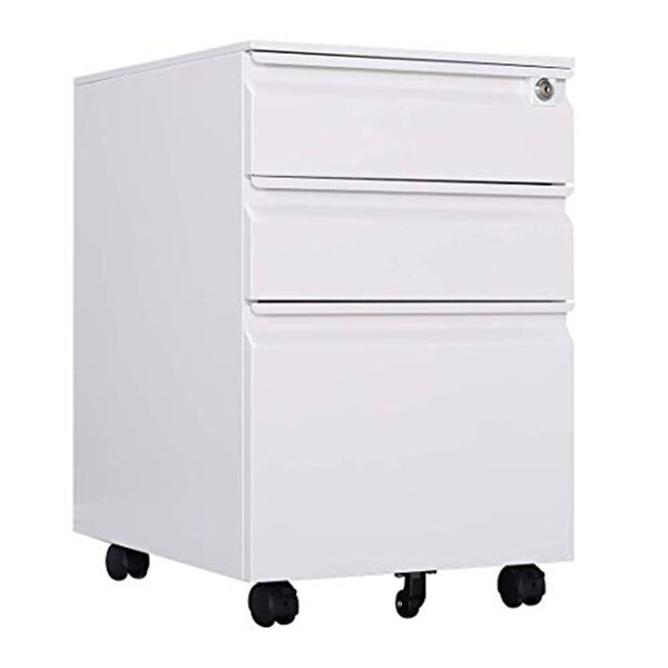 Alitzel 3-Drawer Vertical Filing Cabinet
