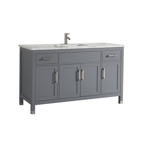 Peralez Modern 60 Single Bathroom Vanity Set