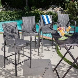 patio bar stools youll love wayfair