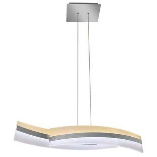 Modern 2 light pendant lighting allmodern rohrbach 2 light led pendant aloadofball Gallery