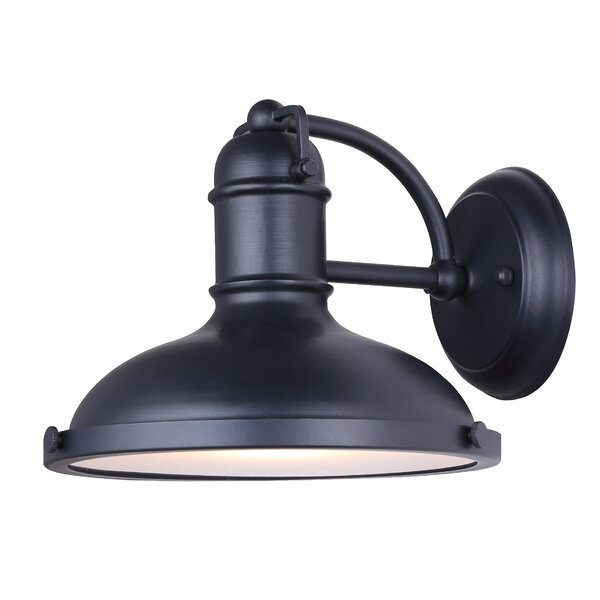 McLeansboro Outdoor Barn Light by Alcott Hill