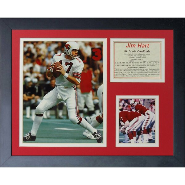 Jim Hart Framed Photographic Print by Legends Never Die