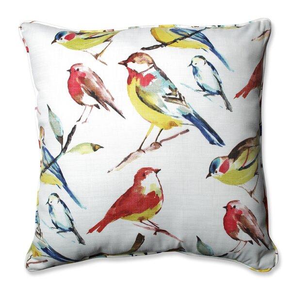 Bird Watcher Summer Floor Pillow by Pillow Perfect