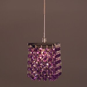 Bedazzle 1-Light Mini Pendant