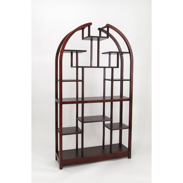 Dwain Geometric Bookcase By Darby Home Co