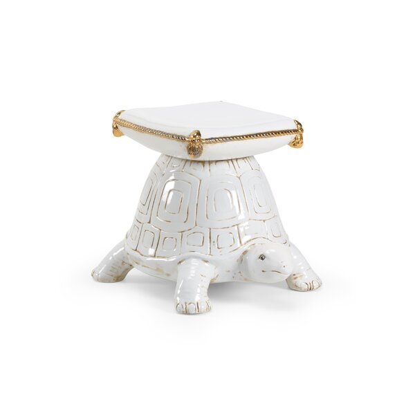 Turtle Garden Stool by Wildwood