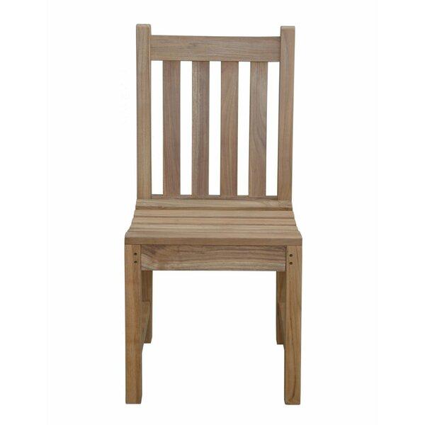 Braxton Teak Patio Dining Chair by Anderson Teak Anderson Teak