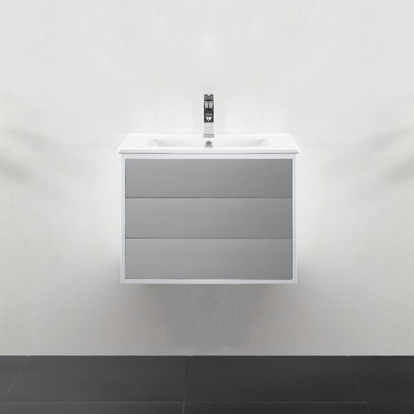 Donze 24 Single Wall-Mounted Bathroom Vanity Set by Latitude Run