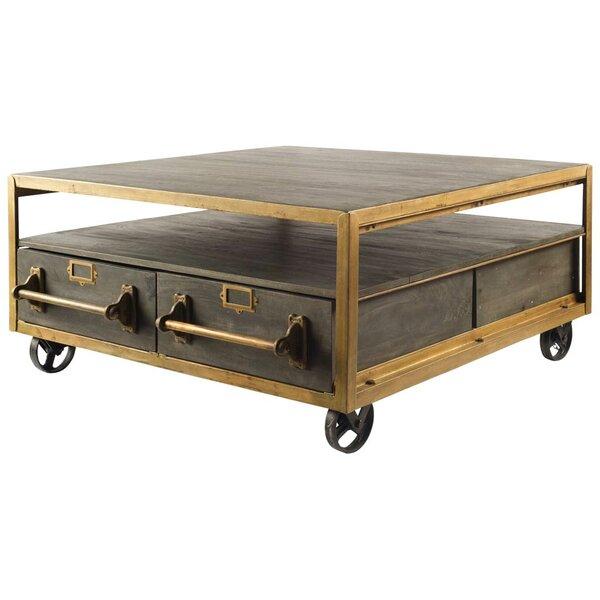 Haywa Wheel Coffee Table With Storage By Trent Austin Design
