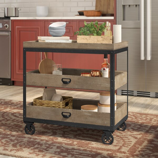 Fort Oglethorpe Kitchen Cart By Laurel Foundry Modern Farmhouse Fresh