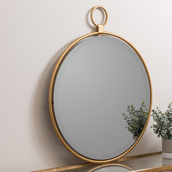 Traditional Round Accent Mirror by Darby Home Co