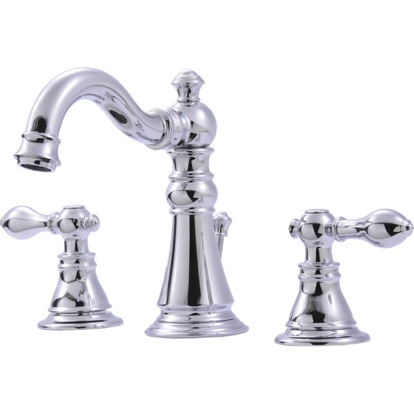 Widespread Bathroom Faucet with Optional Pop-Up Dr
