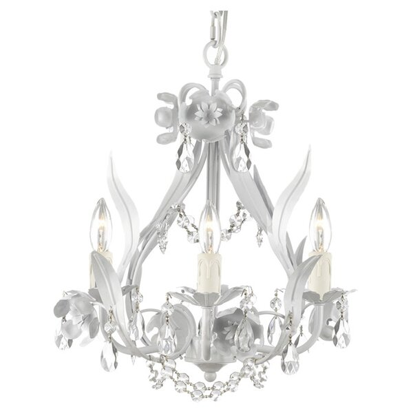 Henriques 4-Light Candle Style Classic / Traditional Chandelier by House of Hampton House of Hampton