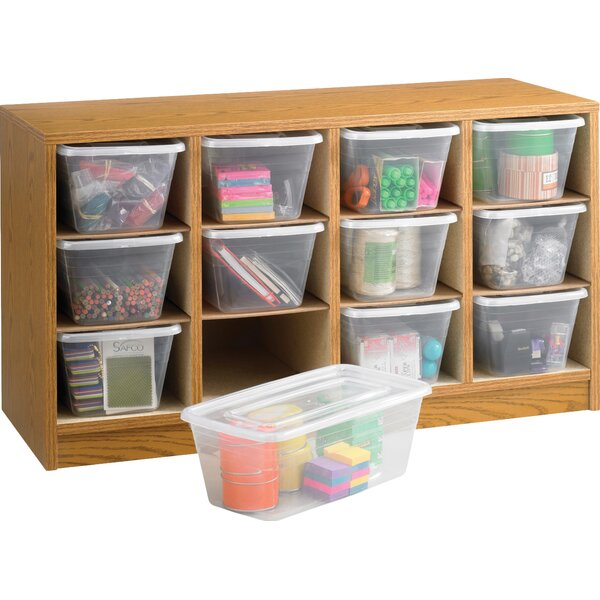 12 Compartment Cubby By Safco Products Company.
