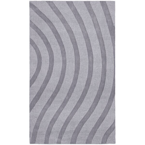 Transitions Light Gray Waves Rug by St. Croix