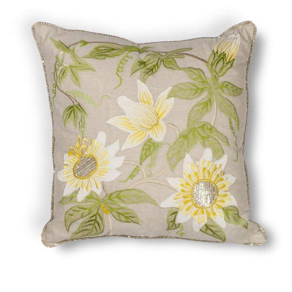Rob Sunflower Throw Pillow by Darby Home Co