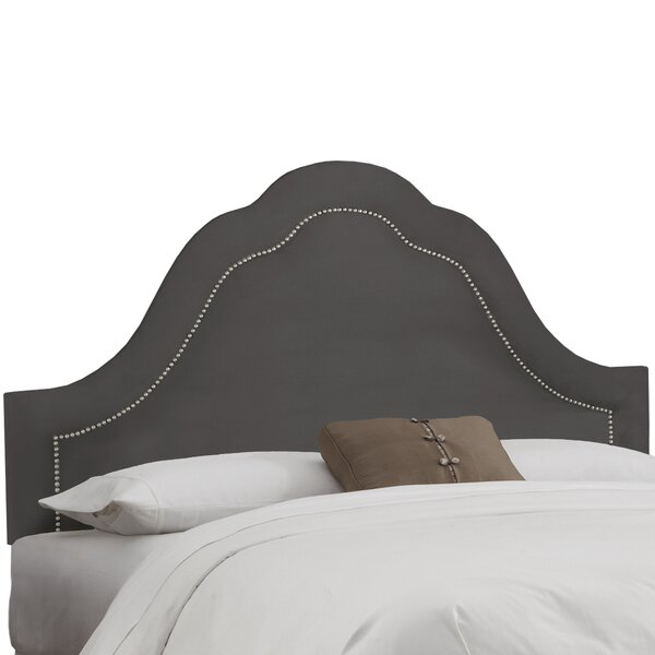 Premier Inset Nail Button Arch Upholstered Panel Headboard By House Of Hampton #1