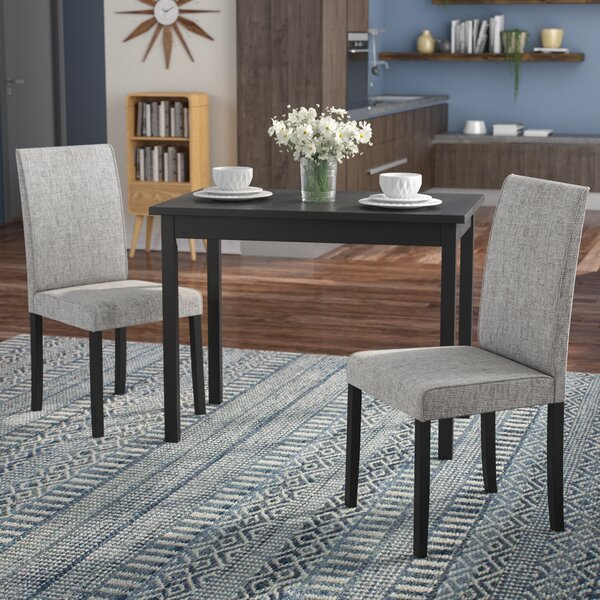 Darvell 3 Piece Dining Set by Latitude Run