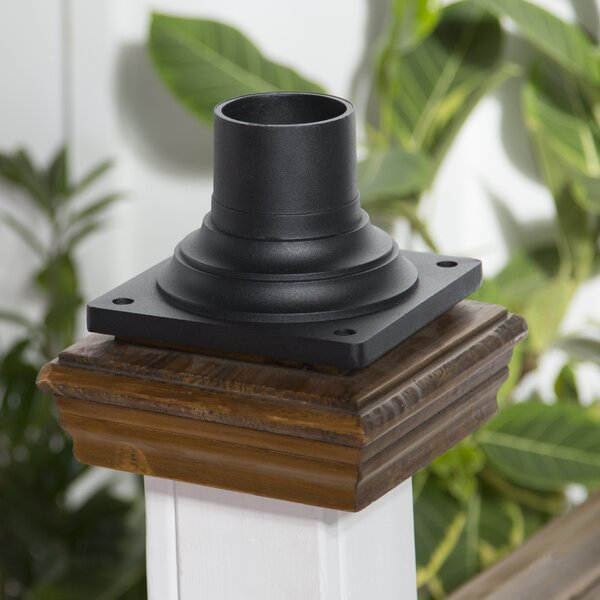 Deskins Mount Outdoor Pier Light Base by Charlton Home