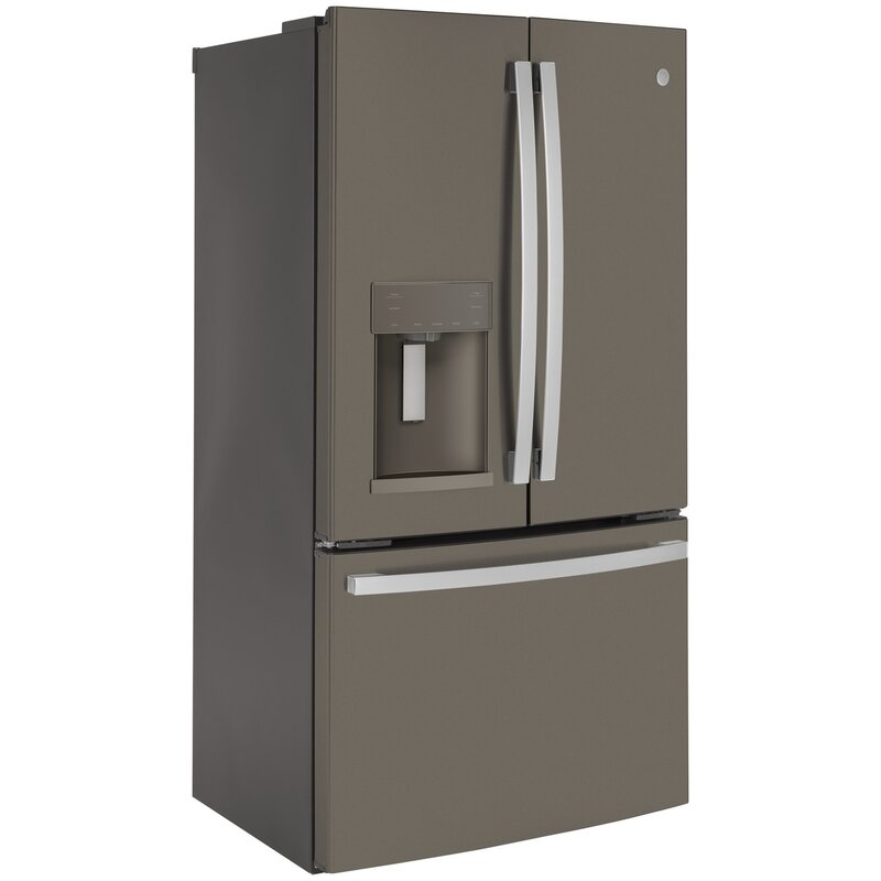 Ge Appliances 36 Counter Depth French Door 22 1 Cu Ft Smart Energy Star Refrigerator Reviews Wayfair