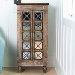 Best Price Schulenburg Free Standing Jewelry Armoire with Mirror ByBungalow Rose