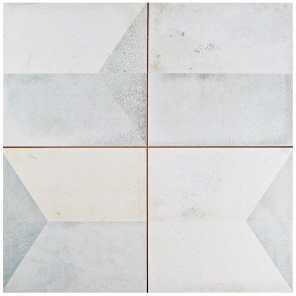 Geamenti 17.58 x 17.58 Ceramic Field Tile in Beige/Gray by EliteTile
