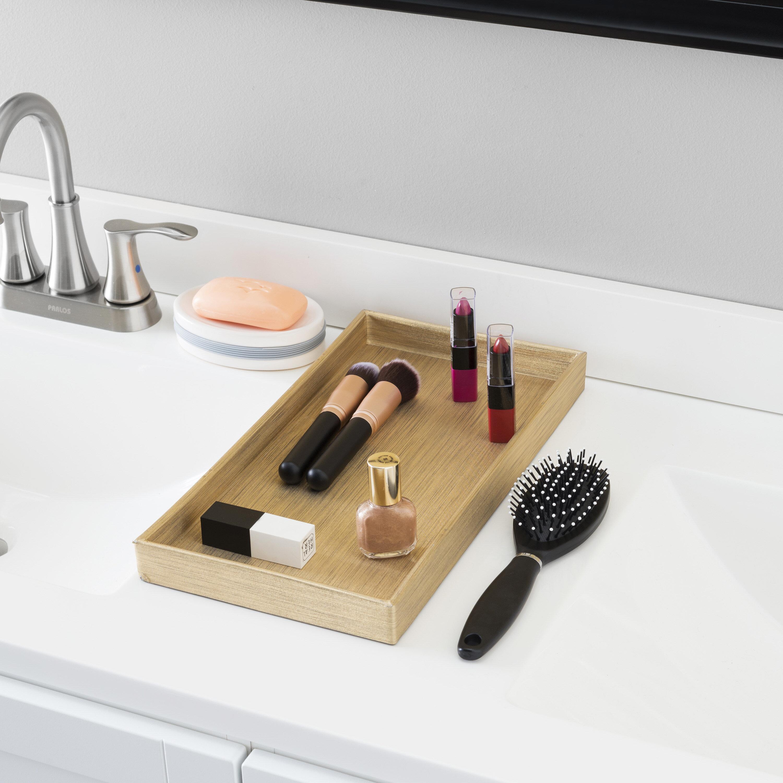 Bay Isle Home Duwayne Bathroom Vanity Tray Reviews Wayfair