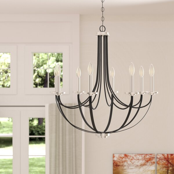 Siavash 8 - Light Candle Style Empire Chandelier By Gracie Oaks