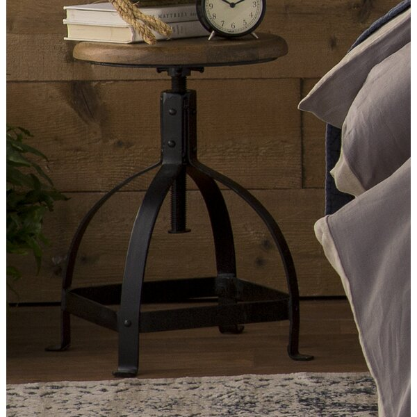Cora Natural Accent Stool by Williston Forge