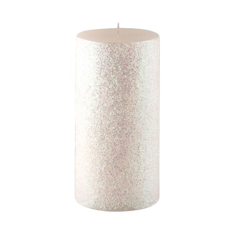 Glitter Pillar Candle by Winston Porter