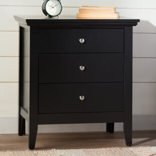 Buy clear Lignite 3 Drawer Nightstand By Laurel Foundry Modern Farmhouse
