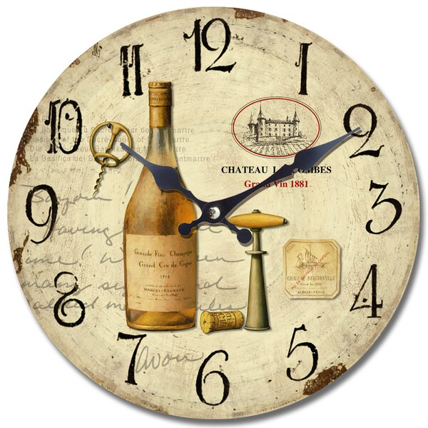 13.5 Wall Clock by Yosemite Home Decor